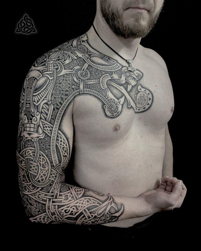 19 15 - 80 Tatouages Viking pour Homme