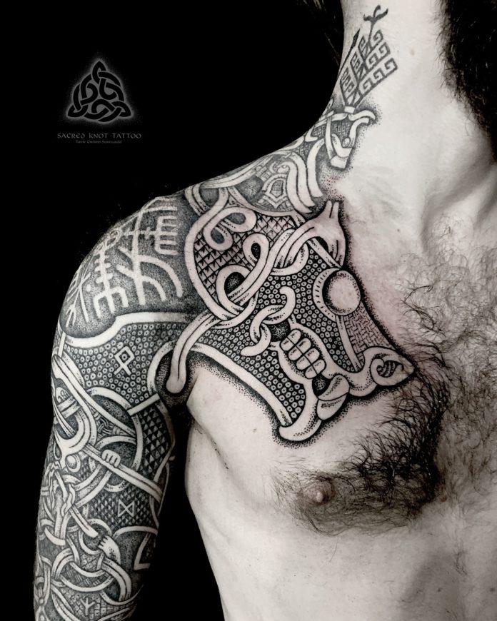 22 17 - 80 Tatouages Viking pour Homme