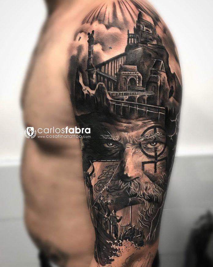 24 14 - 80 Tatouages Viking pour Homme