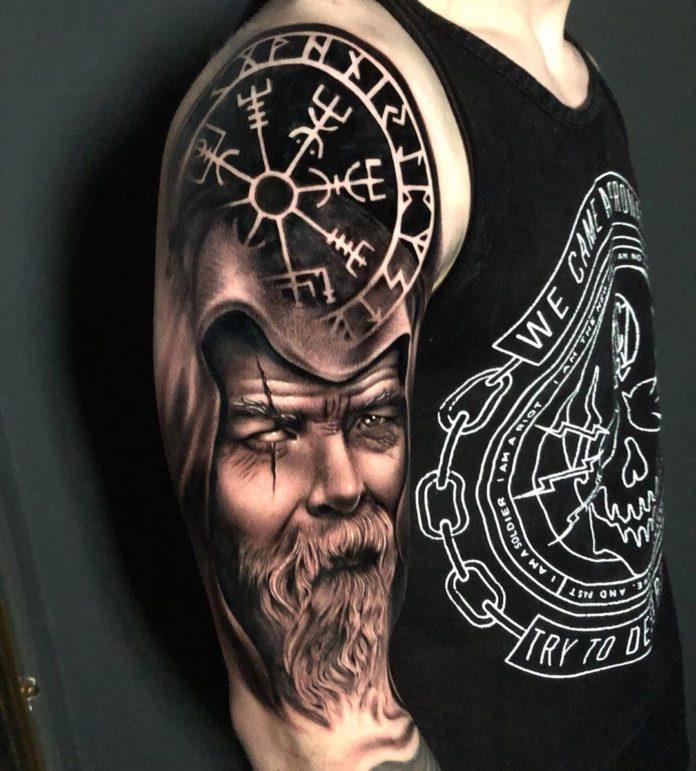 27 16 - 80 Tatouages Viking pour Homme