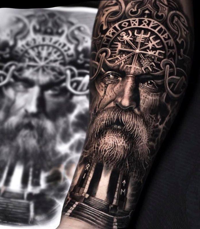 37 13 - 80 Tatouages Viking pour Homme