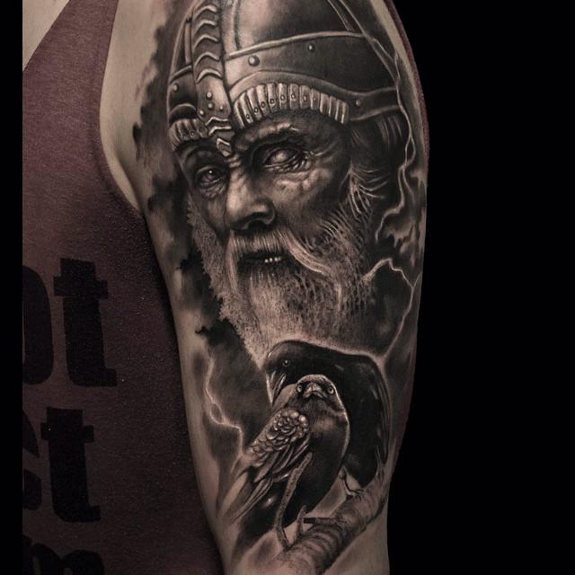 38 18 - 80 Tatouages Viking pour Homme