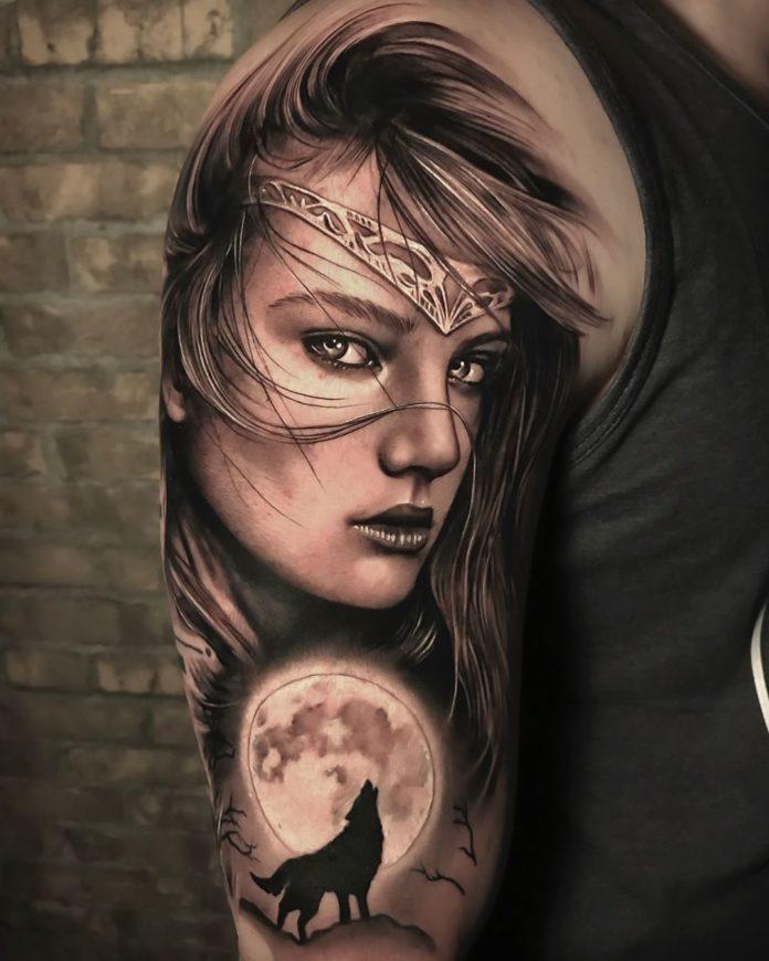 38 2 - 100 magnifiques Tatouages Réalistes pour Homme
