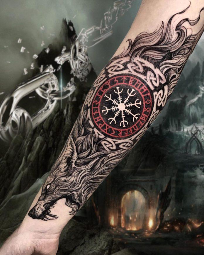 43 5 - 80 Tatouages Viking pour Homme