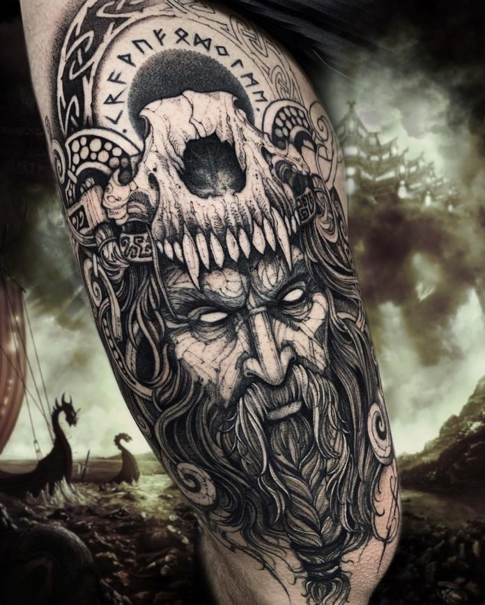 44 5 - 80 Tatouages Viking pour Homme