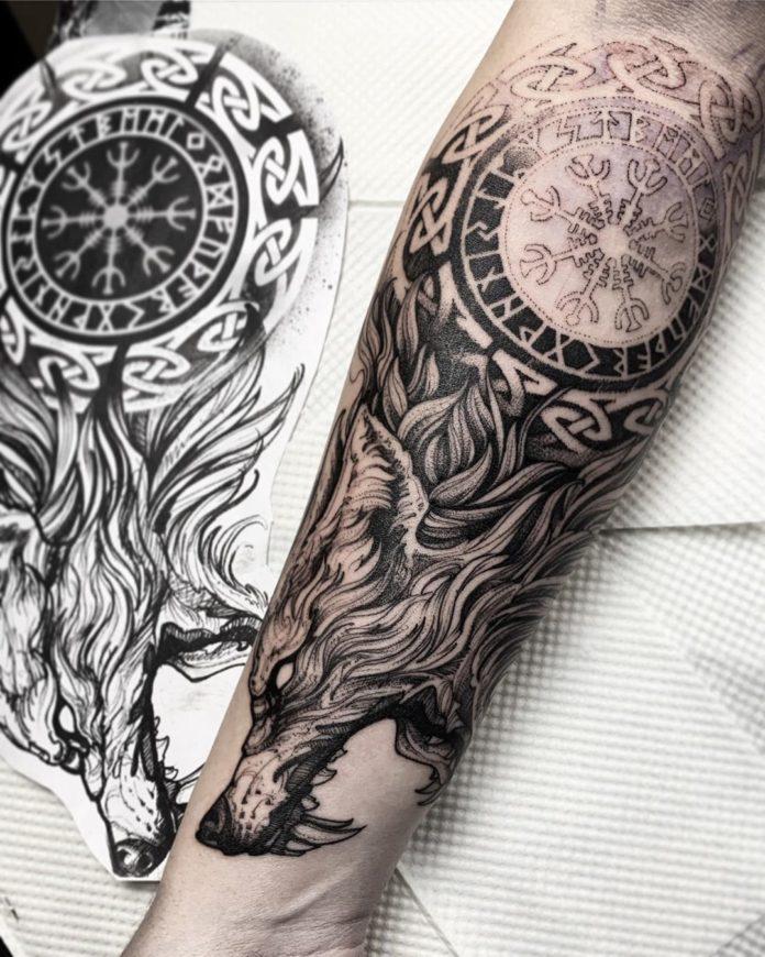 46 5 - 80 Tatouages Viking pour Homme
