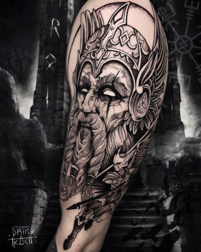 48 6 - 80 Tatouages Viking pour Homme