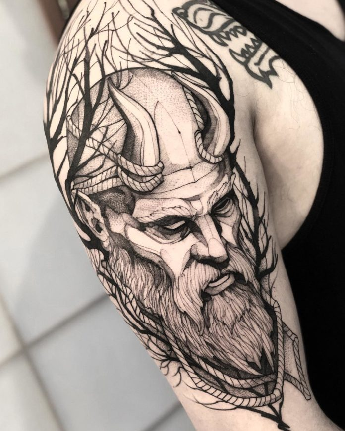 65 1 - 80 Tatouages Viking pour Homme