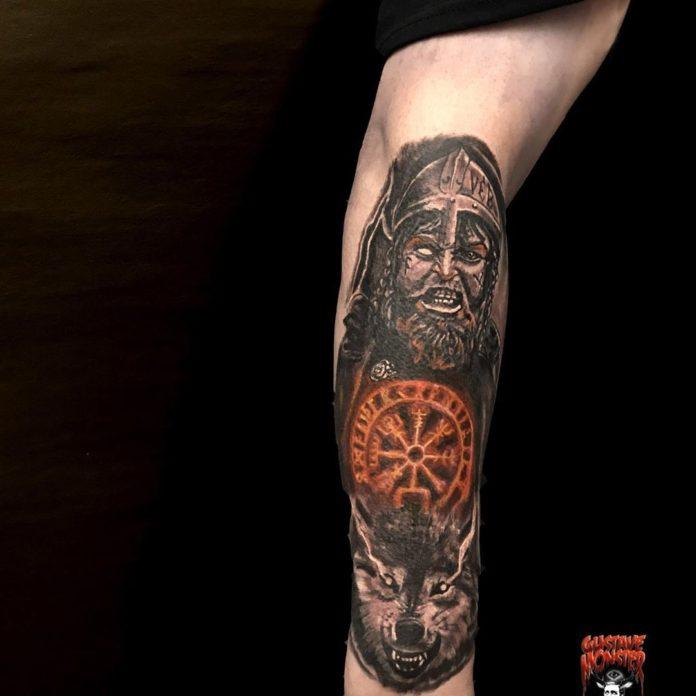 68 1 - 80 Tatouages Viking pour Homme