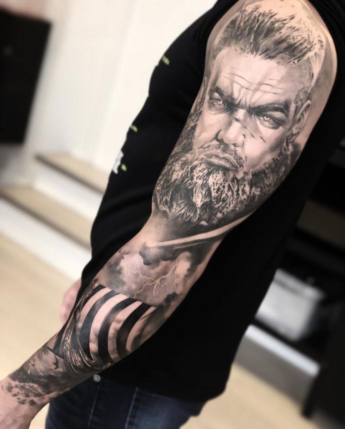 71 3 - 80 Tatouages Viking pour Homme