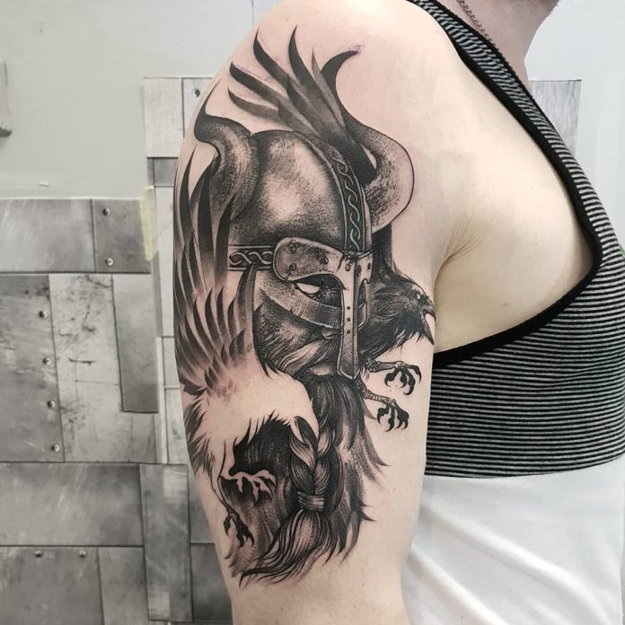 75 1 - 80 Tatouages Viking pour Homme