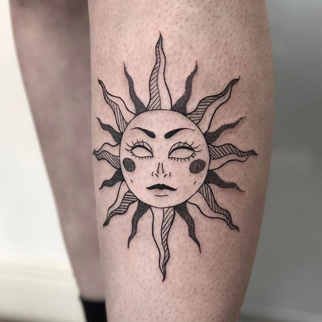 1 14 - 100 Tatouages Soleil