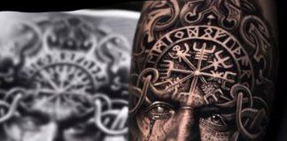 tatouage viking pour homme