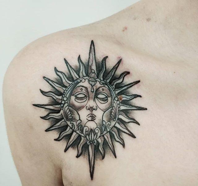 63 12 - 100 Tatouages Soleil