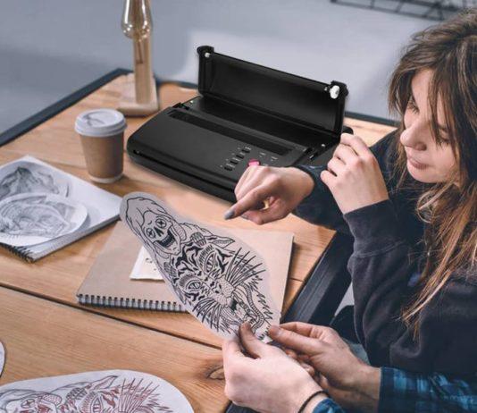imprimante thermique tatouage